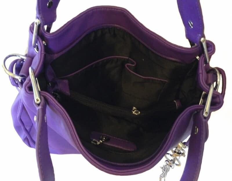 Aurora Concealed Carry Handbag Open