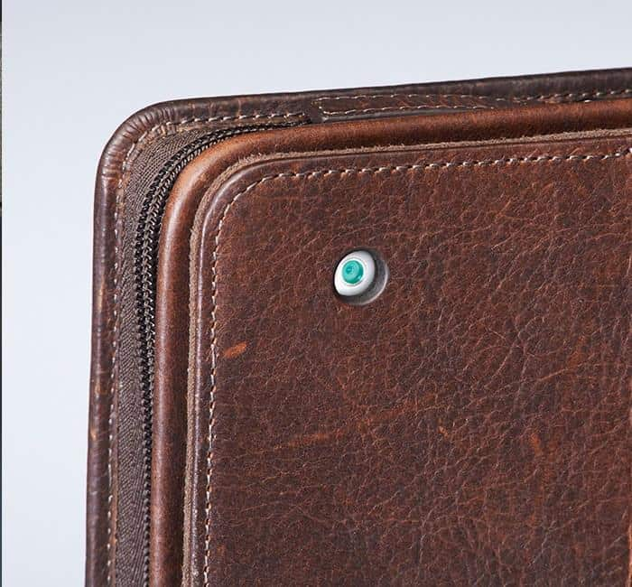 GTM-03 USA Bison Leather CCW Ipad Case Brown Lens