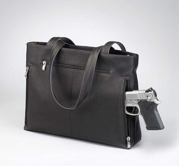 GTM-1018 Shoulder Portfolio Back with Gun