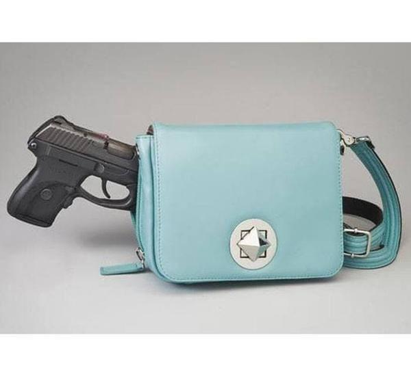 GTM-15 Cross Body Organizer Ice Blue