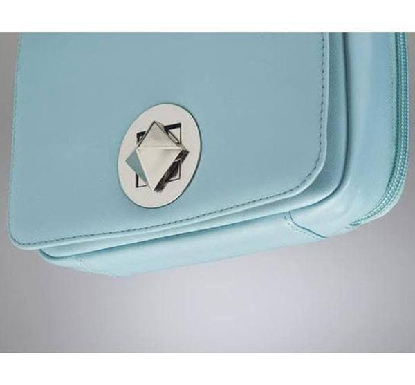 GTM-15 Cross Body Organizer Ice Blue Bottom