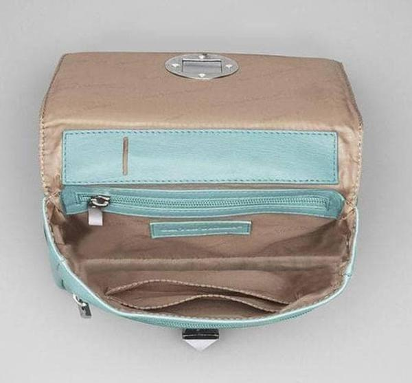 GTM-15 Cross Body Organizer Ice Blue Open