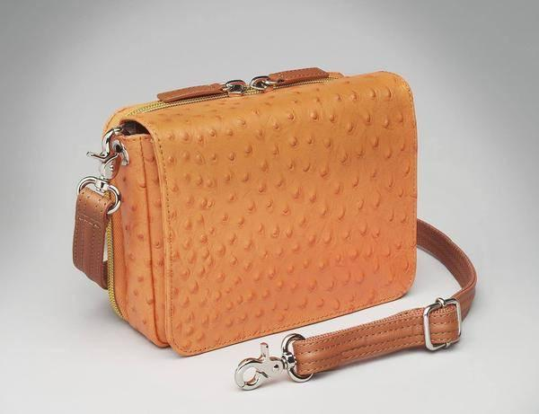GTM-15 Cross Body Organizer Orange