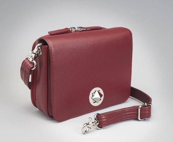 GTM-15 Cross Body Organizer Red