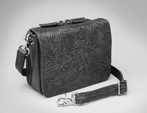 GTM-15 Cross Body Organizer Black Tooled