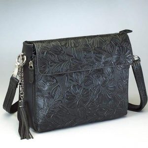 Tooled American Cowhide – 3 Colors – Gun Tote'n Mamas