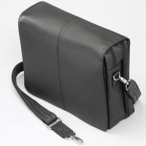 Flap Over Messenger – Black – GTM-26/BK