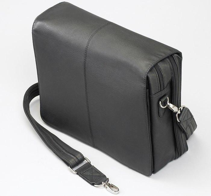 Flap Over Messenger Black
