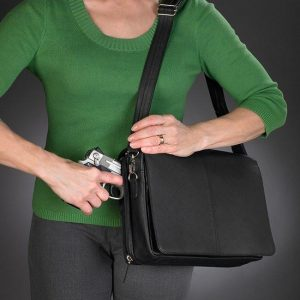 GTM 26 Flap Over Messenger Black Draw Gun