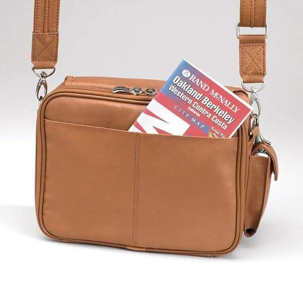 GTM-28 Classic Boston Bag Back with Map