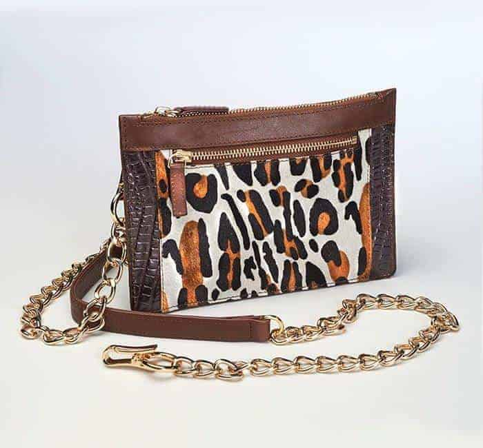 Leopard Print Chained Wallet (Limited Edition)