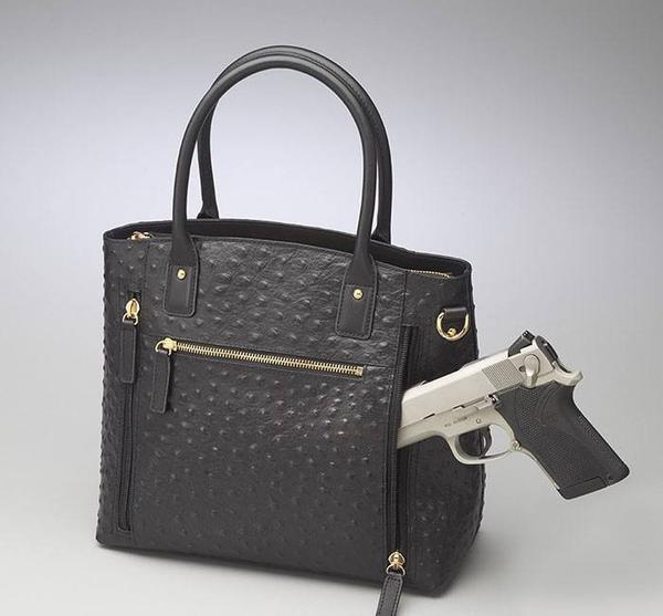 GTM-51 Town Tote Black with Gun