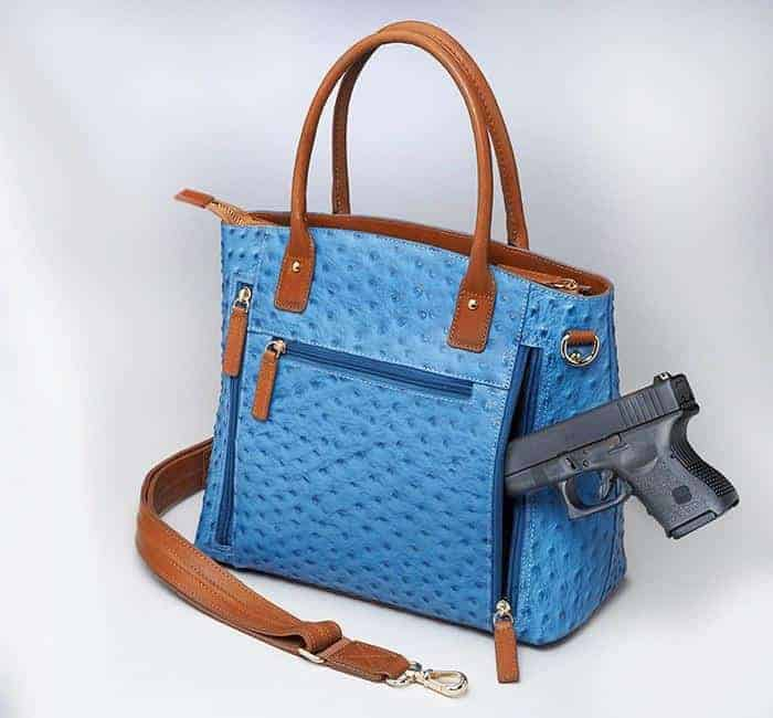 GTM-51 Town Tote Blue with Gun