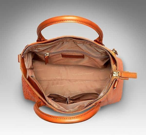 GTM-51 Town Tote Orange Open