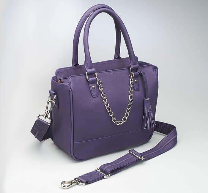 GTM-52 Park Avenue Tote Purple