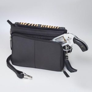 GTM 73 Zebra Print Shoulder Clutch