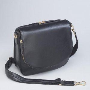 Drop-Front Handbag