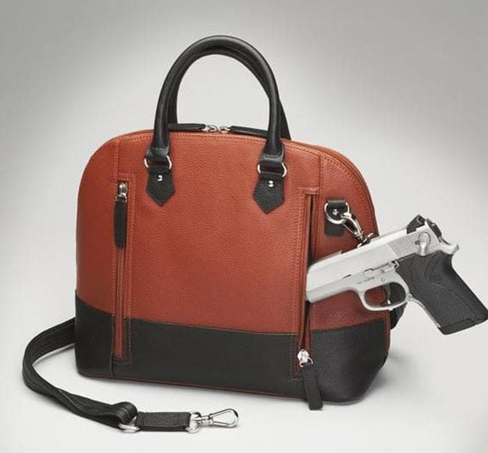GTM 97 Cinnamon & Black Bowler With Gun