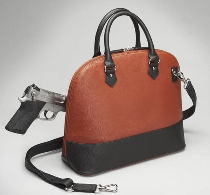GTM-97 Cinnamon & Black Bowler with Gun