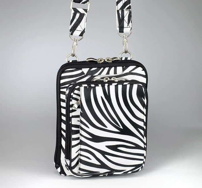 GTM-99 Concealed Carry Raven Shoulder Pouch Zebra