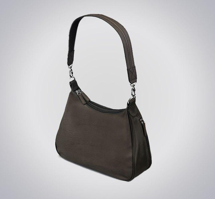GTM-70 Concealed Carry Basic Hobo Handbag Brown