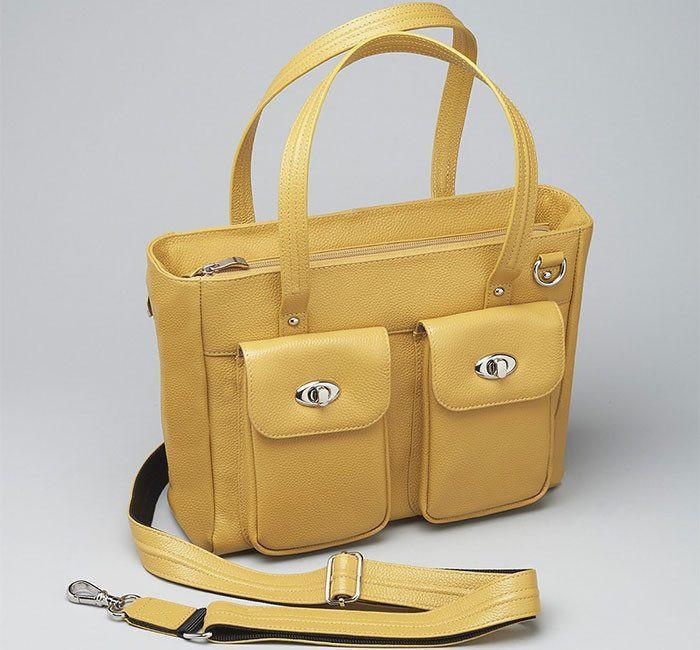 GTM 86 Cargo Tote Yellow