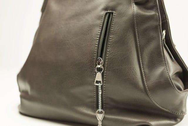 Kat Concealed Carry Handbag Brown Side