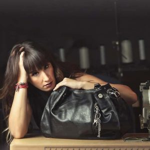 Sharon Black Concealed Carry Handbag