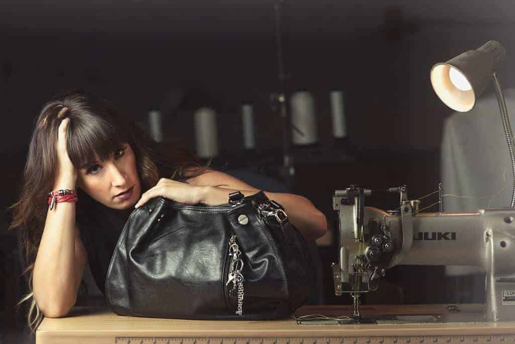 Sharon Black Concealed Carry Handbag