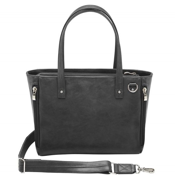 Washable Leather Wallet CCW Tote GTM 86 BK back 79