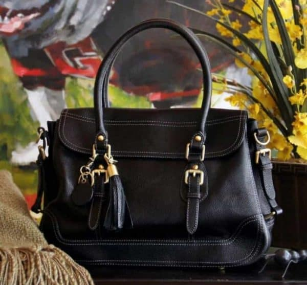 aged black leather satchel 1 e1508341173396