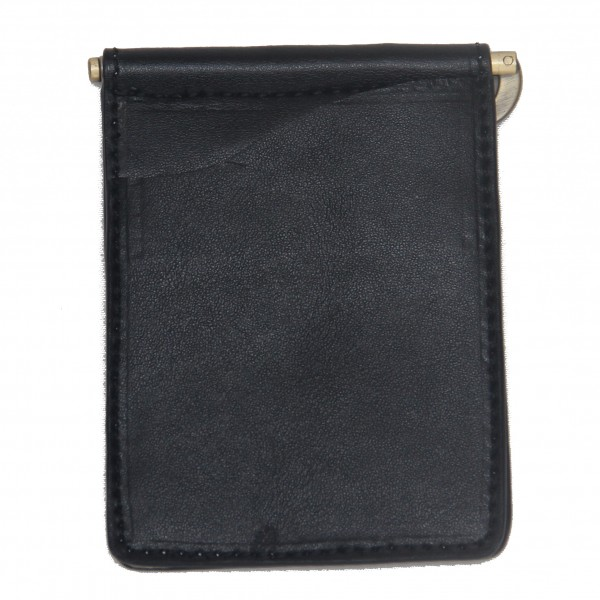 Concealed Cary Men's Money Clips Black Back