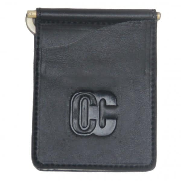 Concealed Cary Men's Money Clips Black Front