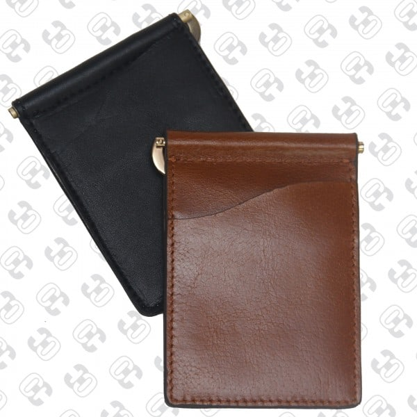 Concealed Cary Men's Money Clips Brown Back