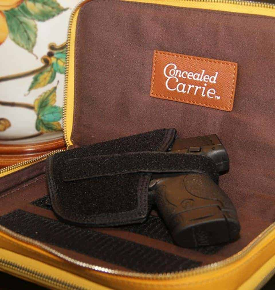 Concealed Carry Purse - Casual Carry Compact Carrie - Mustard