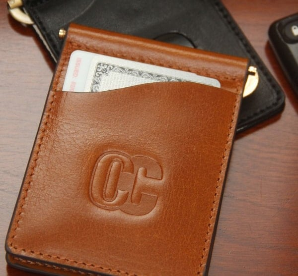 Concealed Cary Men's Money Clips Front