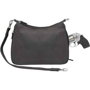 Conceal Carry Basic Hobo Handbag – 4 Colors – Gun Tote'n Mamas