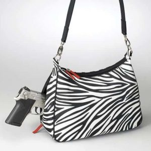 Concealed Carry Basic Hobo Handbag – Zebra GTM-ZBR/70