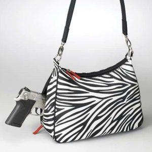 Concealed Carry Basic Hobo Handbag – Zebra GTM-ZBR/70
