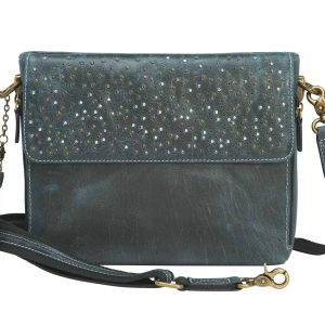 Distressed Buffalo Leather Shoulder Clutch – 4 Colors – GTM/CZY-22