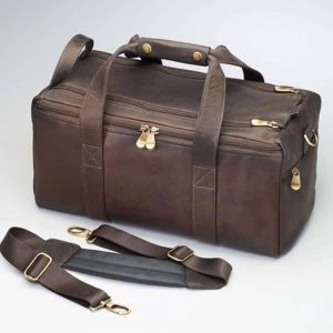 CCW Range Bag – Oiled South American Cowhide Leather – Gun Tote'n Mamas