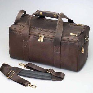 CCW Range Bag – Oiled South American Cowhide Leather – Gun Tote'n Mamas
