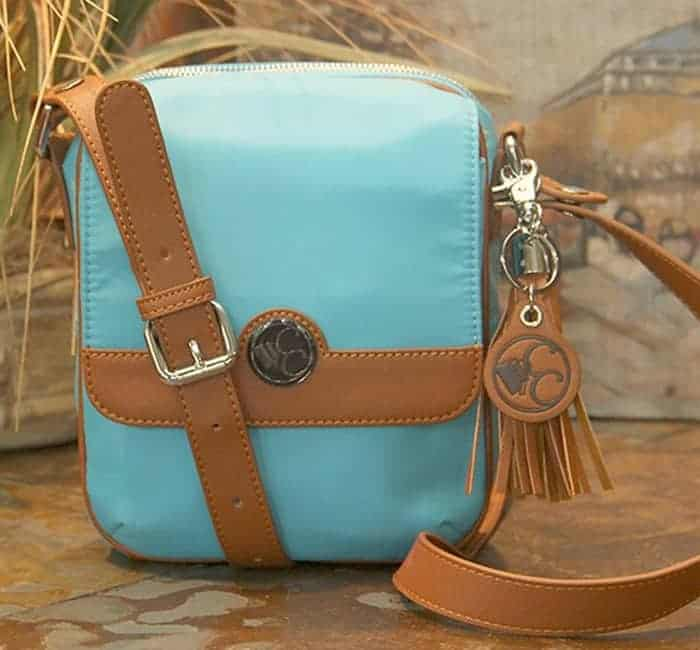 Concealed Carry Purse – Casual Carry Crossbody Compact – Turquoise