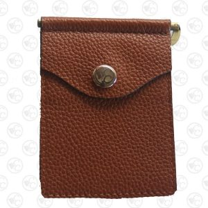 Wallet Aged Brown Front White Cc 1 P3