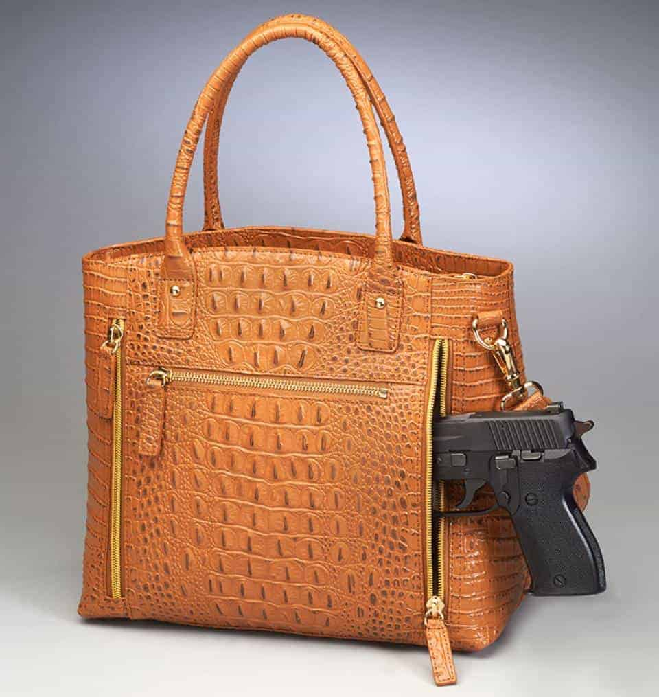 GTM 53 Croco BackWgun Tote 0
