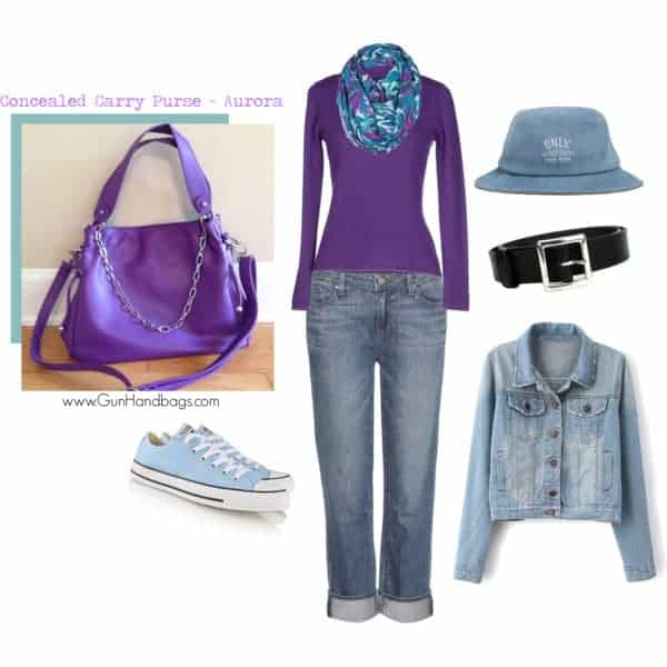 Concealed Carry Looks Pretty In Purple