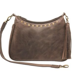 Distressed Leather RFID Hobo Purse – GTM-CZY/70