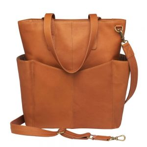 Oversized Leather RFID Travel Tote – Gun Tote'n Mamas