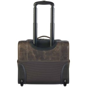 Distressed Buffalo Rolling Range Bag  – Gun Tote'n Mamas