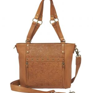 BOHO Shoulder Purse – Tan